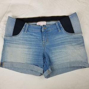 Isabel Maternity light wash sz 12 shorts